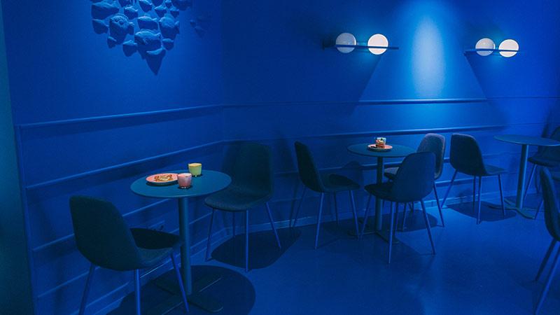 la pecera calle goya 56 blue room