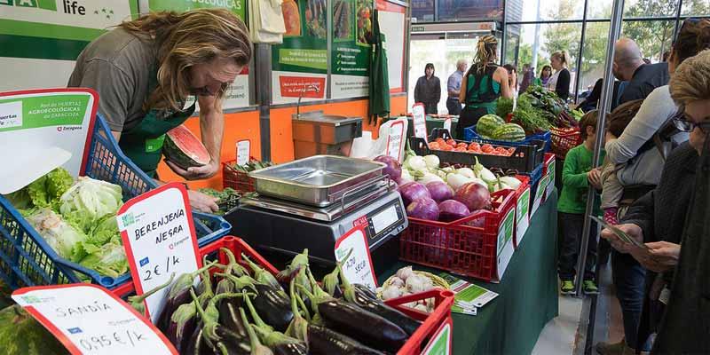 Mercado agroecológico, productos ecológicos