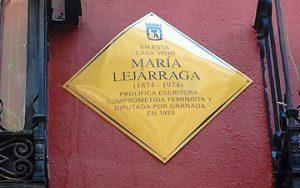 homenaje a María Lejárraga