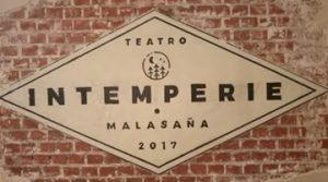 Intemperie Teatro en Malasaña