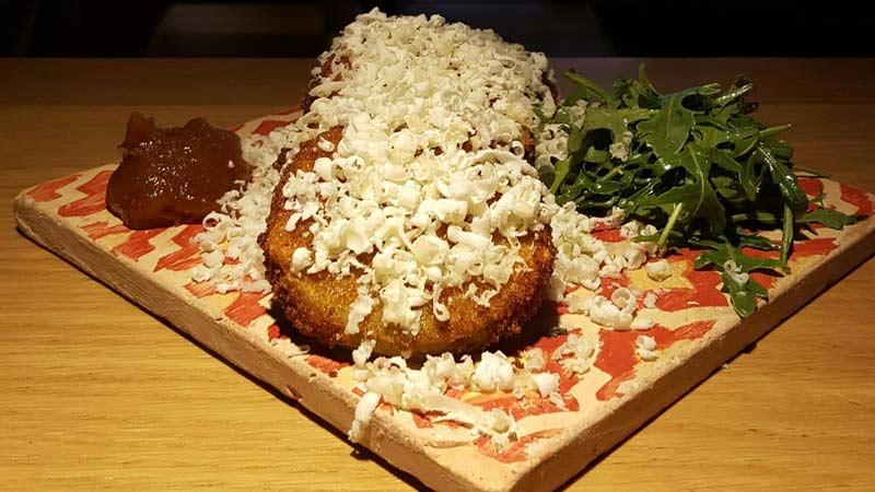 plato del restaurante La Musa