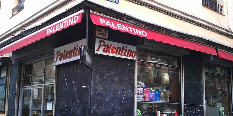 fachada del bar Palentino