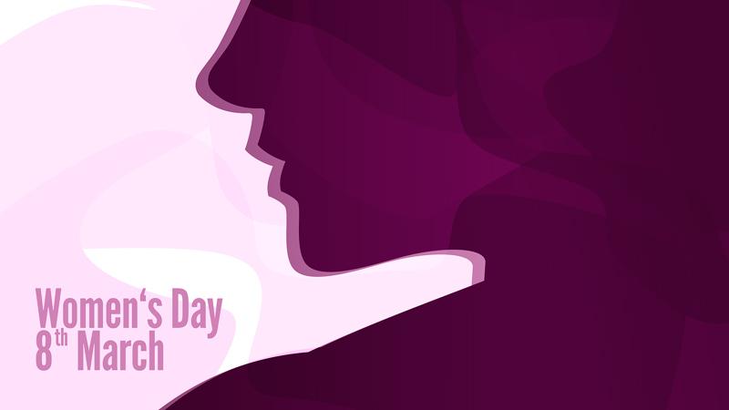 cartel ilustrativo del día de la mujer