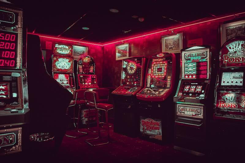 máquinas de jugar