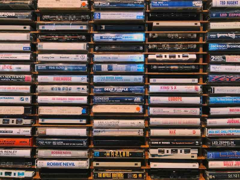 cintas de música