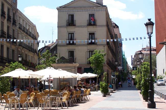 Plaza del Barrio de las Letras
