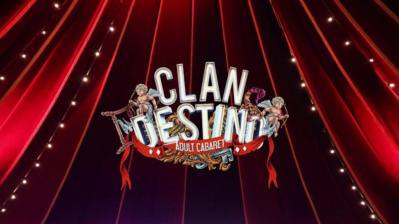 imagen promocional de la obra Clandestino Cabaret