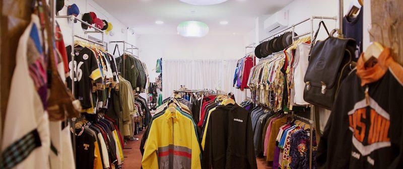 Toda la ropa de la tienda vintage Magpie