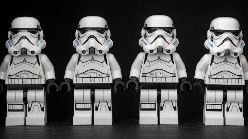 muñecos lego de star wars