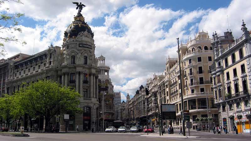 edificio Metrópolis en Gran vía con Alcalá