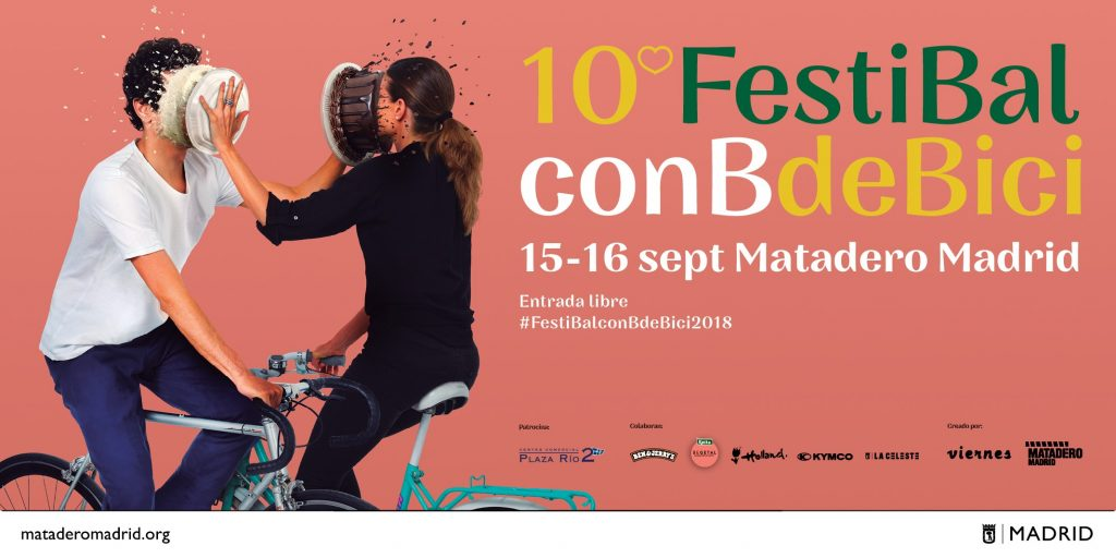 FestiBal con B de Bici cartel