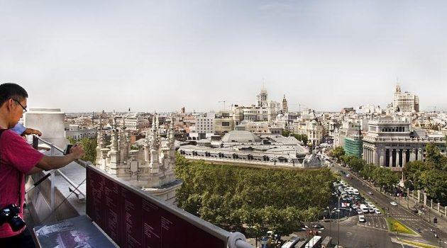 Reabre el Mirador Madrid de CentroCentro