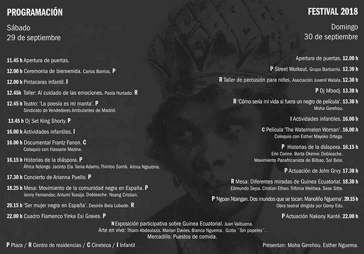 programacion conciencia afro