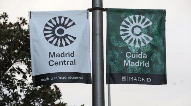 Señalización de Madrid Central