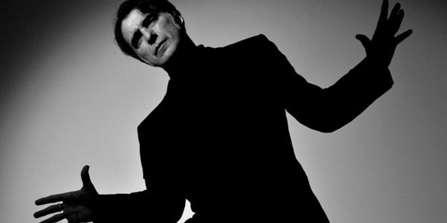 Foto de Javier Colis en blanco y negro