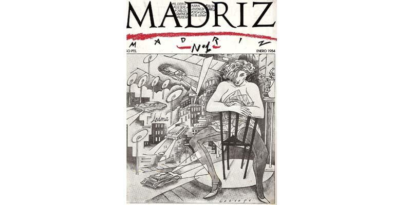 Portada de la revista Madriz hecha por Ceesepe