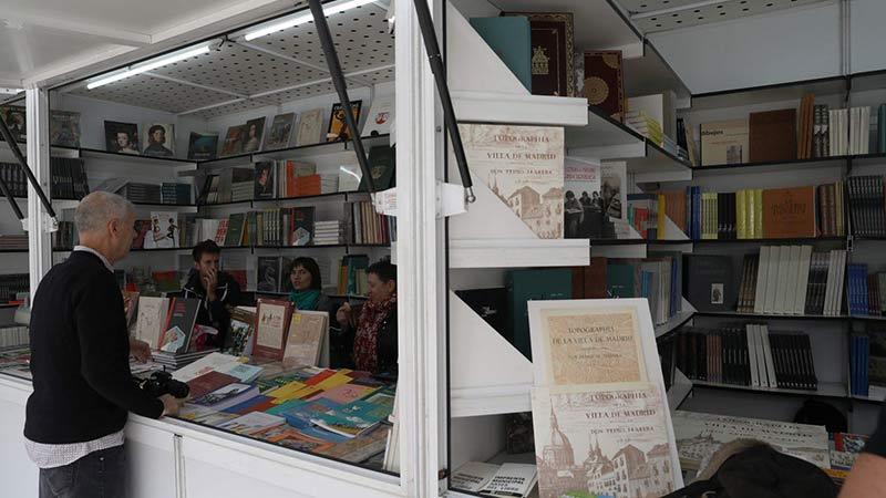 Casetas de la Feria del Libro de Madrid