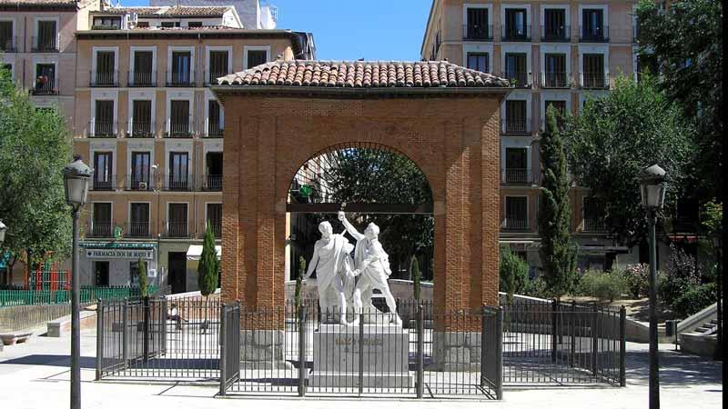 Plaza del 2 de mayo de Madrid