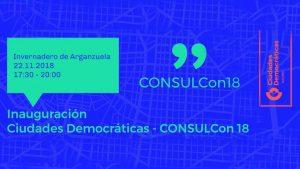 consulcon ciudades democráticas