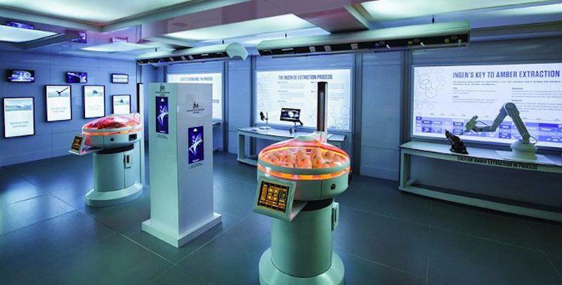 laboratorio jurassic world