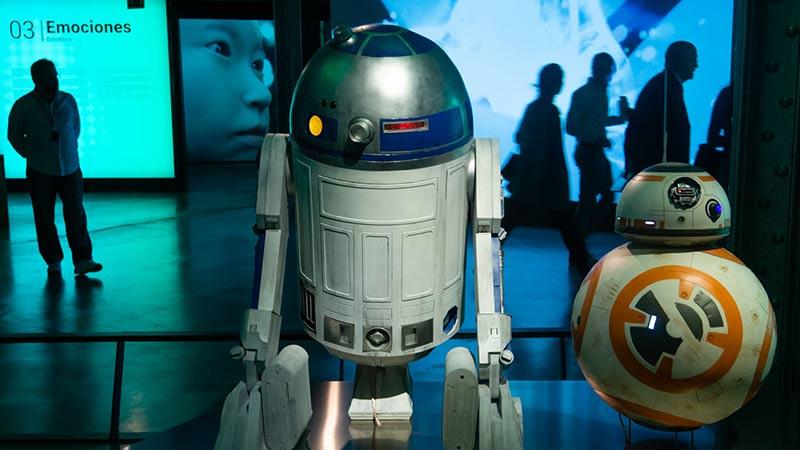 Réplica R2-D2 de la Fundación Telefónica