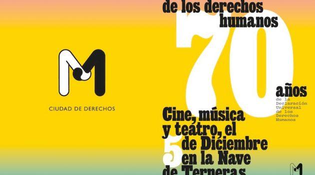 Día Internacional de los Derechos Humanos en Madrid