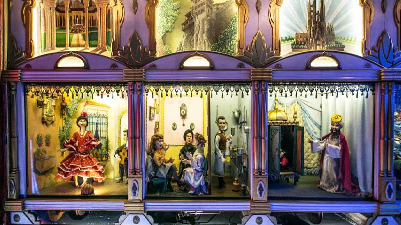 Teatro de Autómatas en Conde Duque