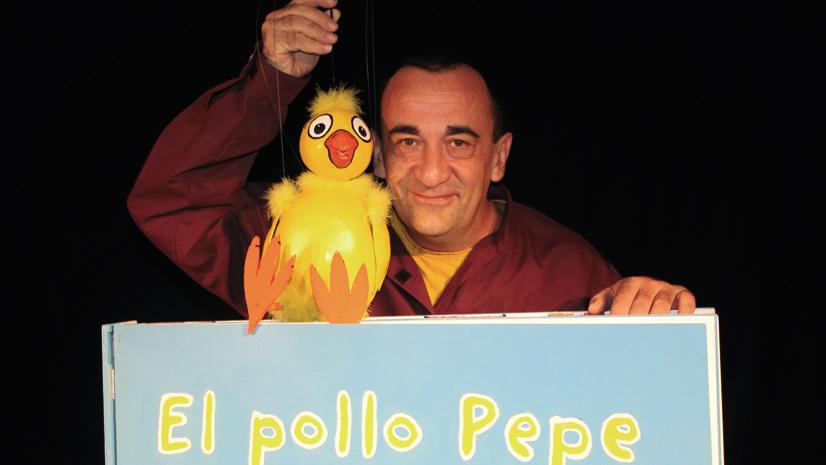 El Pollo Pepe en el Retiro