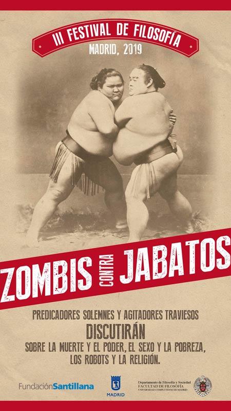 Cartel de la 3ª Edición del Festival de Filosofía en Madrid