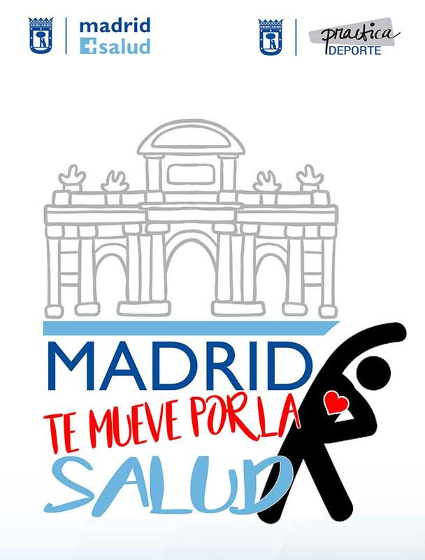 Póster del evento Madrid te mueve por la salud