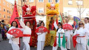 Madrid celebra el Año Nuevo Chino