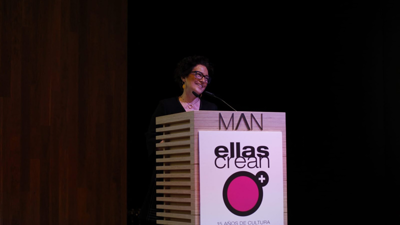 Concha Hernández en la presentación de la 15 Edición de Ellas Crean