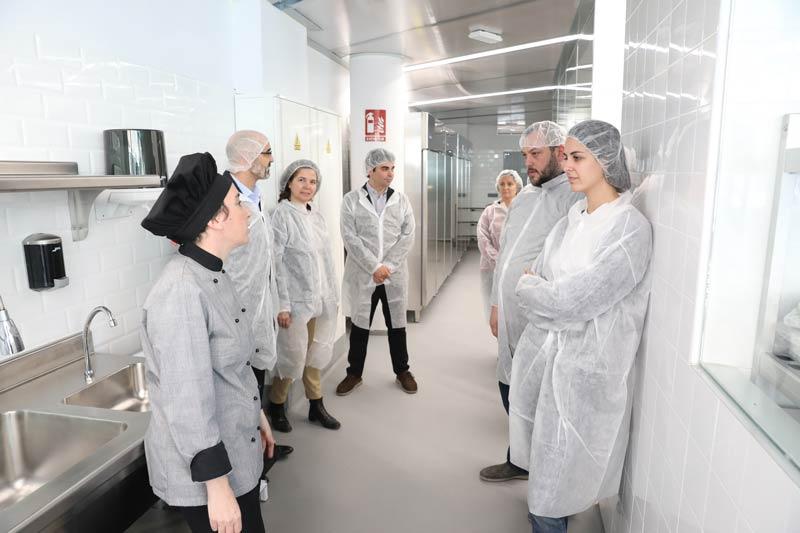 Interior de la incubadora de Madrid