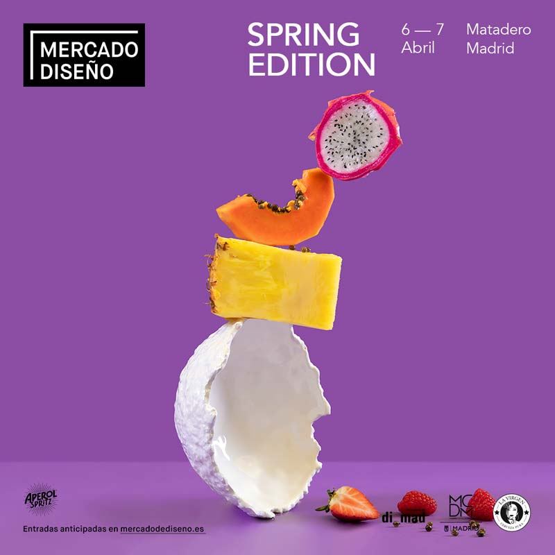 Cartel oficial del Mercado de Diseño de primavera