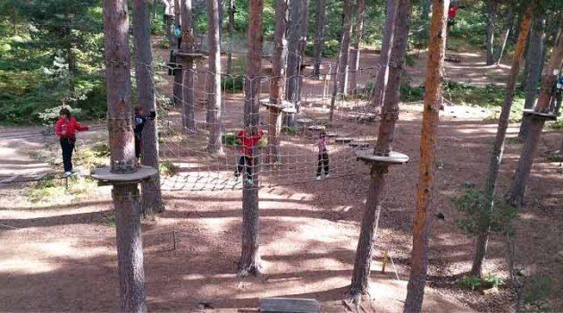Parques de aventura en la naturaleza, ¡diversión asegurada!