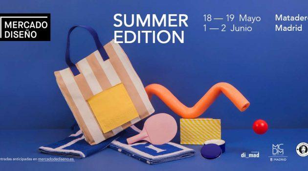 El doble verano del Mercado de Diseño