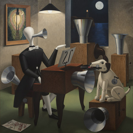 Obra 'Autómatas Anticlaro de Luna', de Sigfrido Martín Begué