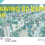Cartel de Drawing Ed Expo 19