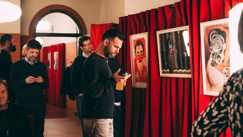 Exposición de los ilustradores del Grupo Planeta en el Mercado de Diseño