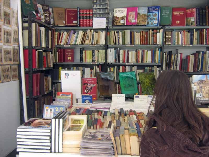 Feria del libro antiguo y de ocasión de Madrid.