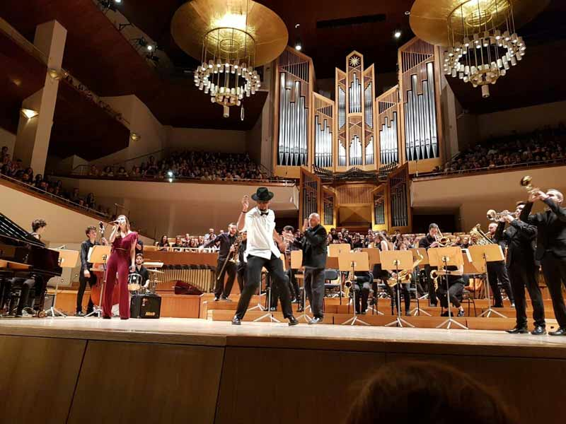 Conservatorio de Arturo Soria, banda