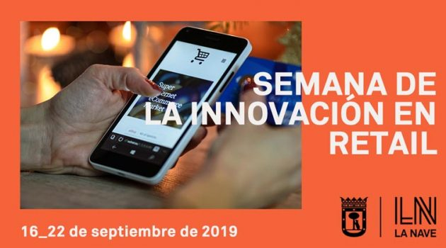 Cartel promocional semana de la innovacion en retail