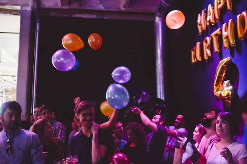 mercado de diseño celebración de cumpleaños