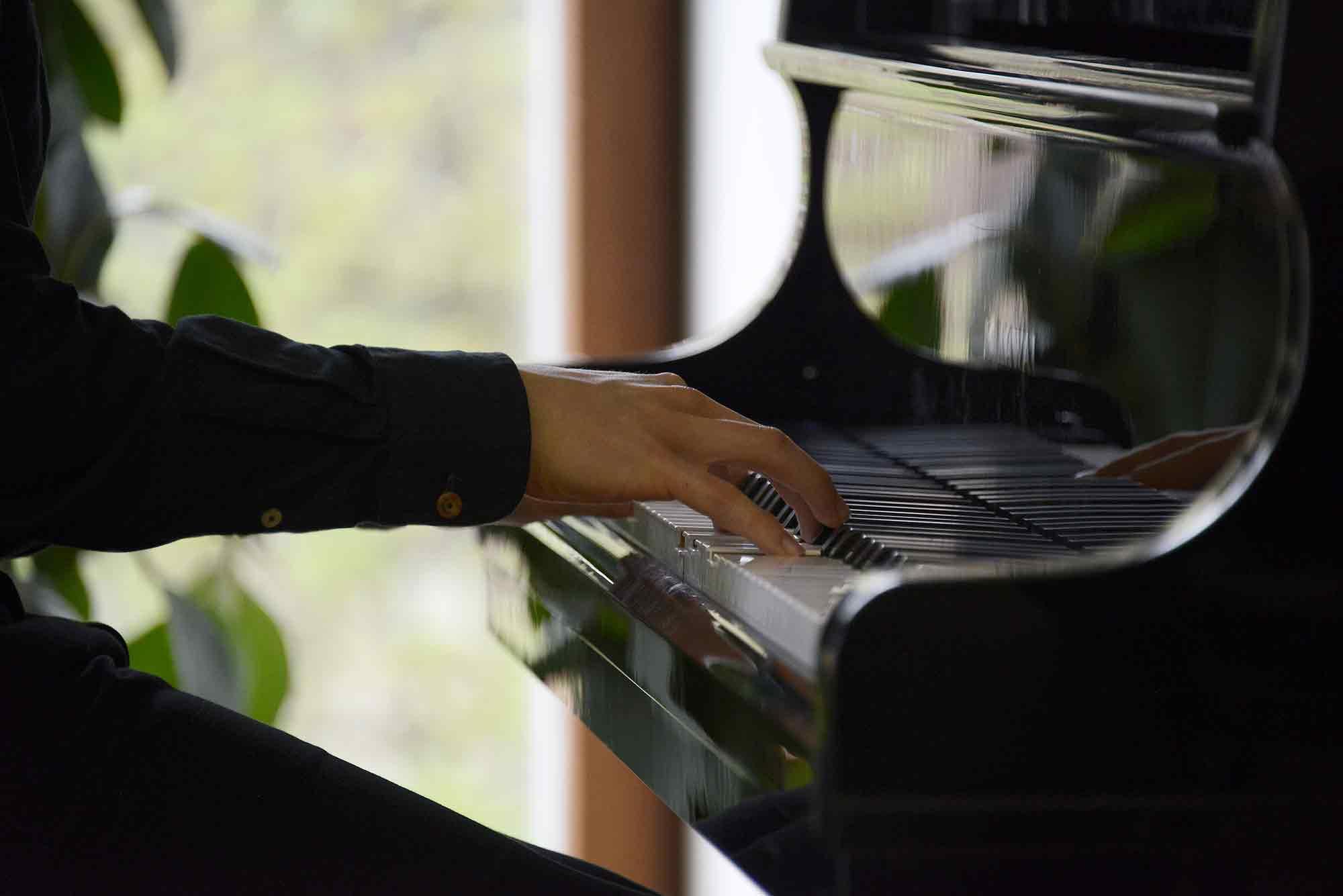 Concierto de piano en la Biblioteca Musical