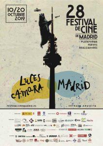 Cartel del Festival de Cine de Madrid, del 10 al 20 de Octubre