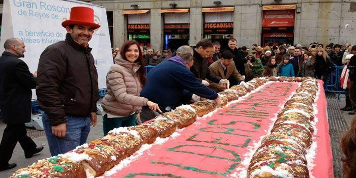 Roscón de Reyes de Aldeas Infantiles SOS