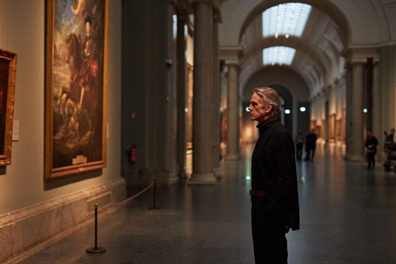 Jeremy Irons en el Museo del Prado-Pintores y Reyes del Prado
